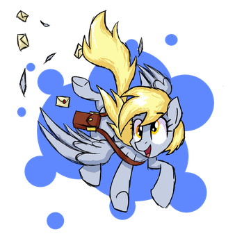 Mail Pony Derpy Hooves by Signal15