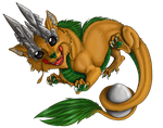 Baby Dralion by Galidor-Dragon