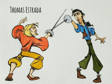 Miguel and Tulio  by felixbrownslc