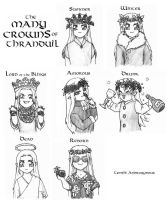 The Many Crowns of Thranduil by Tenshi-Androgynous