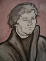 Martin Luther by Jeremiah29