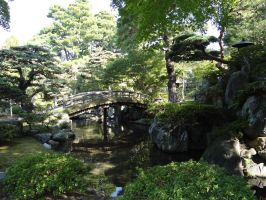 Former Imperial Palace Garden Kyoto, Japan 2 by Scubasteve51387