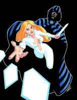 Cloak and Dagger by drawerofdrawings
