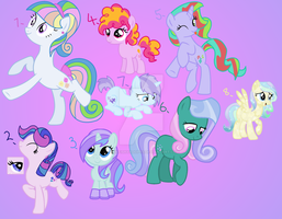 Pony Point OTA Adoptable Batch - CLOSED by MonkFishyAdopts