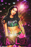 AJ Lee by TheAwesomeJeo