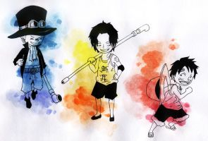 One Piece: childhood by AH4