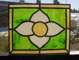 Stained Glass Flower by AutobotWonko