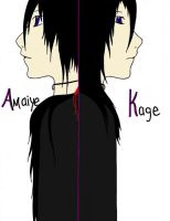 Amaiye and Kage - We Are One - Colored Digitally by Angellore69