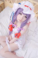 Patchouli Knowledge Cosplay by Shiizuku
