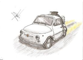 fiat 500: back to the future by that-car-bloke