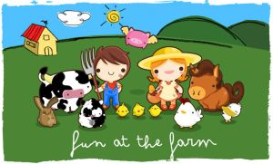 Fun at The Farm by SquidPig