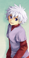 Killua For Kura by Eluva
