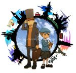Professor Layton 9th Anniversary by maki5656