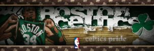 Boston Celtics signature by beatnik83