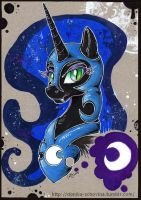NightMare Moon by Cally-Dream