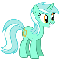 Lyra Heartstrings Vector by ikillyou121