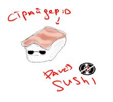 Dave sushi ^^ by Stylo-Cyborg