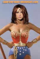 Wonder Woman Miley by Jade-the-lover