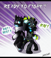 Ready to Fight ? by SMASH-ii