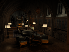 The Library by MadamGoth