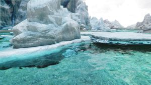 Clear and Icy Water by GlaceyAndy