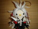 Amidamaru hellokitty plushie by Rens-twin