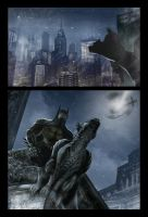 Batman and Catwoman page 1 by deanhsieh