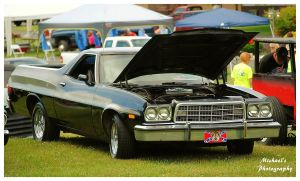 A Black Ford Ranchero by TheMan268