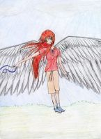 With Barrowed Wings I Want To by kat-reverie