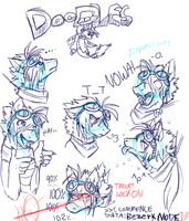 Aure WIP expressions by TeaDino
