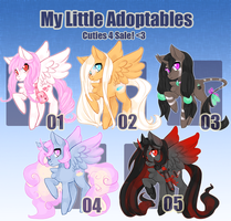 My Little Adoptables [closed, thank you!] by Narrowed