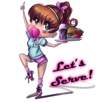 Let's Serve by seyo-tsukino