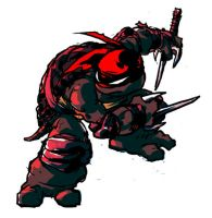 tmnt: raph by mooncalfe