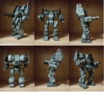 Awesome AWS-8Q papercraft by Vrock8