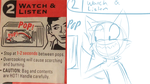 Step 2: Watch and Listen by SmilehKitteh
