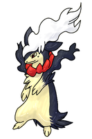 Typhlosion+Darkrai Fusion [closed] by Skeletpengu