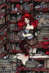 In my library by CathM