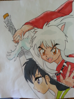 inuyasha by KYOLUVER17