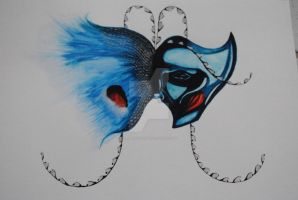 Bird of Paradise Mask 2012 by RoseThief17