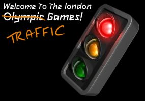 Olympic Traffic Games by YesOwl