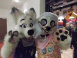 Troy and me at Eurofurence22 by nlorier