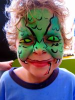 Snake Facepaint by TamiTw