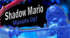 Shadow Mario SSB4 Request by Elemental-Aura