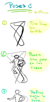 tutorial poses by griff-chii