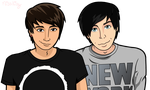 Dan n phil by MissWennaKing