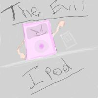 the evil ipod by booper101
