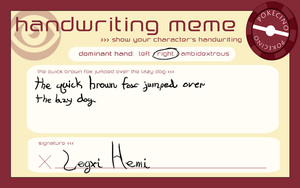 PC:: Handwriting Lexi by Gone4awhile2