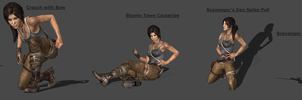 TR Pose Pack 01 by CombatClone