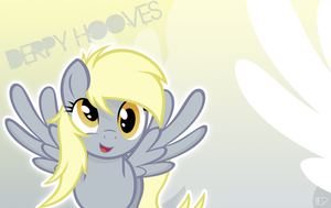 Derpy Hooves Wallpaper by TheBlazyPics
