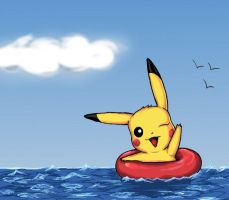 Pikafloat2 by LadyFatality